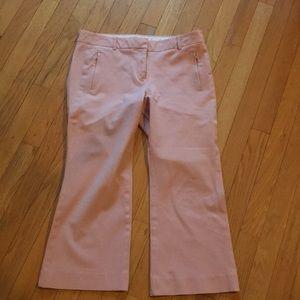 JCrew pants size 8 Blush pink